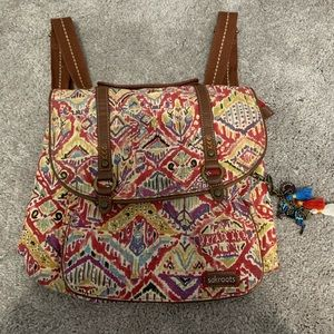 Sakroots Convertible Backpack Tote Purse